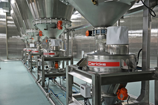 New DenseFlow pneumatic conveying system by Gericke