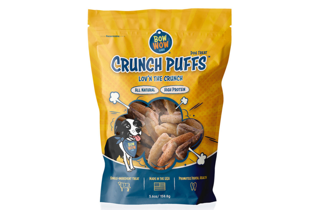 New Crunch Puffs from Bow Wow Labs