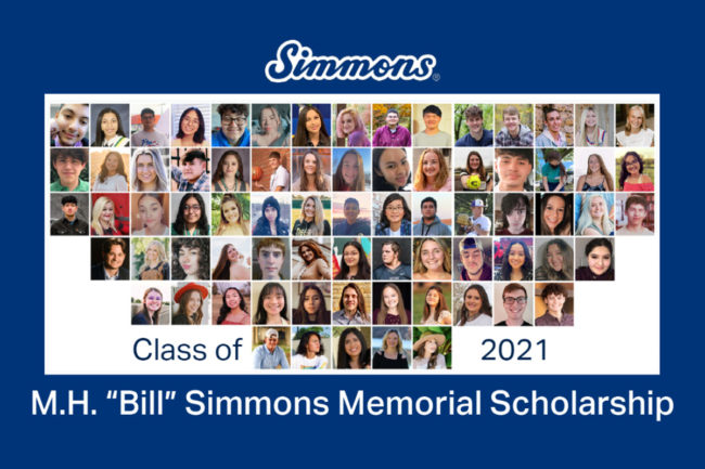 Simmons awards $145,000 in scholarships