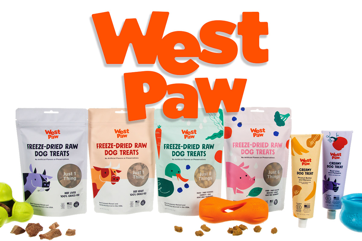 West Paw releases creamy dog treats