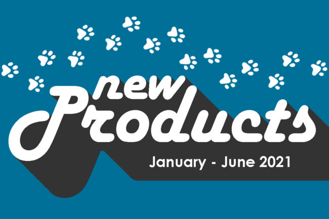 New pet food, treat and supplement products launched from January to June 2021