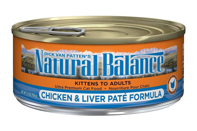 Natural Balance cat food recalled for elevated choline chloride
