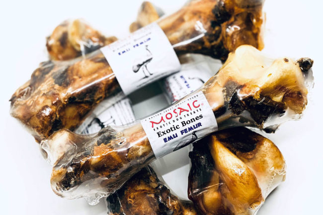 Mosaic expands exotic protein dog treat distribution