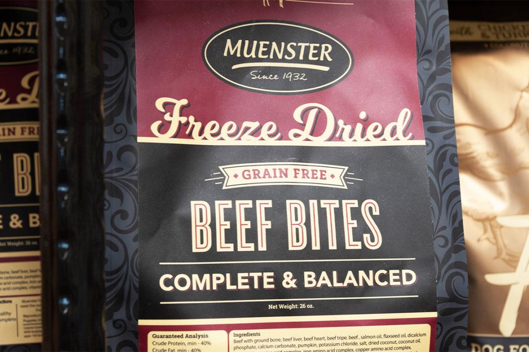 Muenster Milling president completes #30daysofdogfood challenge
