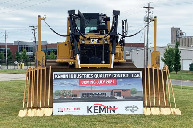 Kemin breaks ground on new QC lab in Des Moines