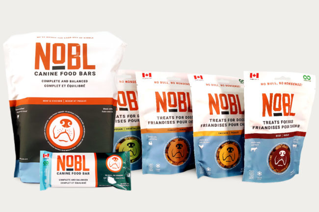 NOBL launches first freeze-dried products for dogs