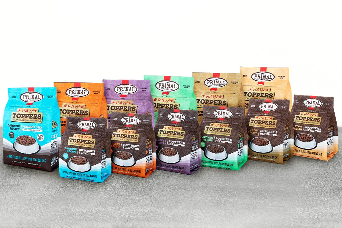 Primal Pet debuts new-and-improved meal toppers