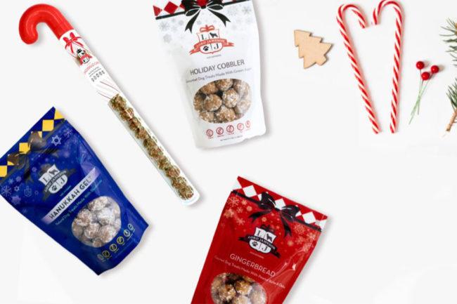 Lord Jameson debuts holiday dog treats