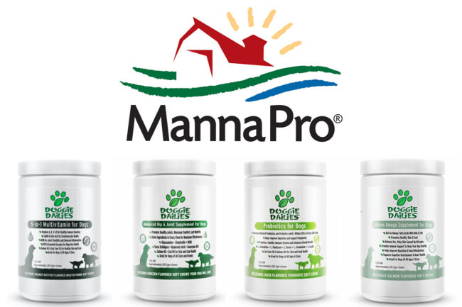 Doggie Dailies acquired by Manna Pro