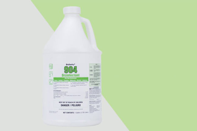 Neogen's BioSentry 904 disinfectant proven effective against COVID-19