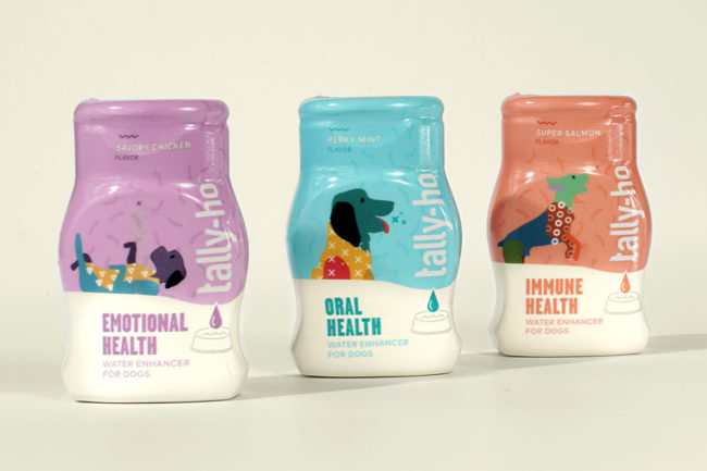 Tally-Ho water enhancers for dogs by Ocean Spray