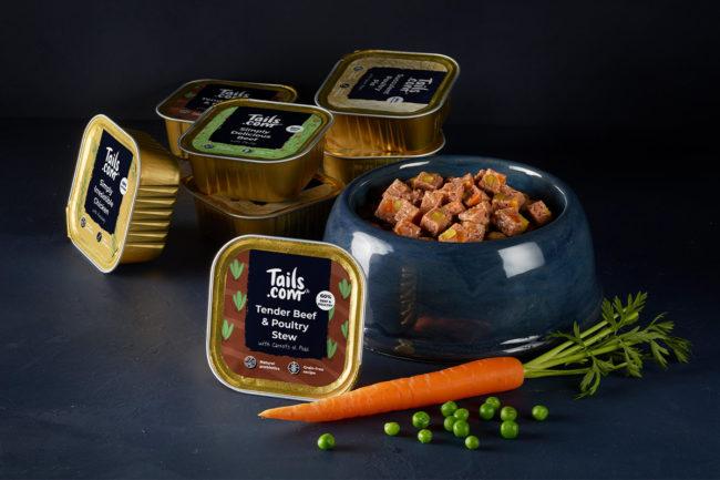 Tails.com expands wet dog food portfolio to include hypoallergenic formulas