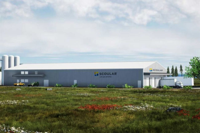 Scoular's marine protein processing plant in Warrenton, Oregon