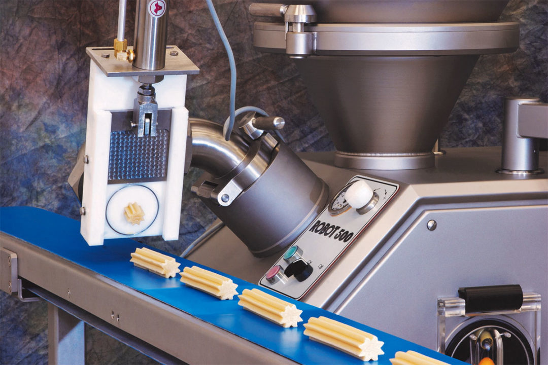 Managing temperature throughout the cold-forming process ensures product is not too stiff to run smoothly through the extruder.