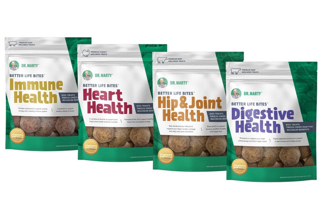 Dr. Marty Pets' Better Life Bites Wellness Treats for dogs