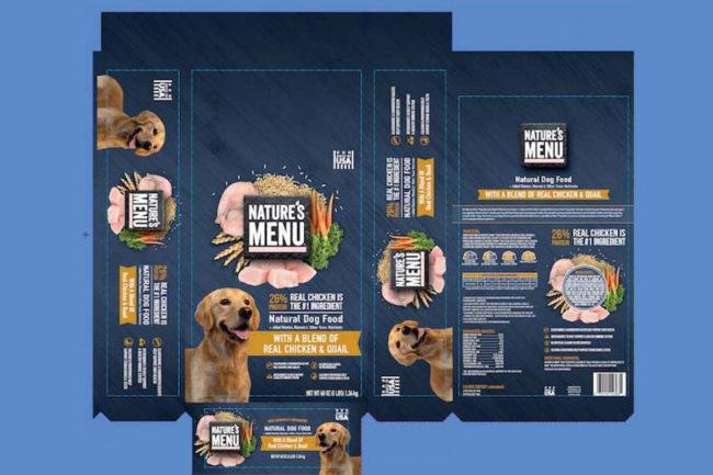 Sunshine Mills recalls Nature's Menu Real Chicken and Quail dog food