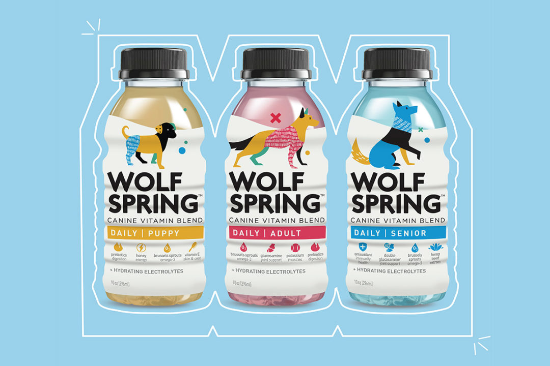 Wolf Spring launches with vitamin-infused dog water supplement