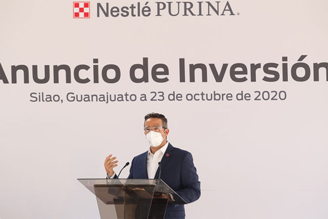 Purina Mexico announcing local pet food manufacturing investment