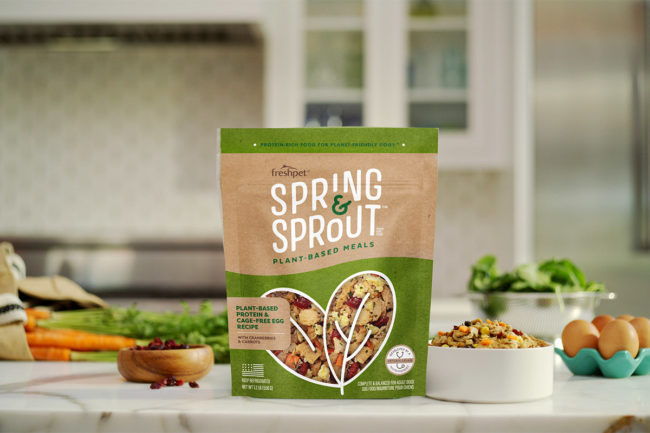 Spring & Sprout fresh meatless dog food by Freshpet