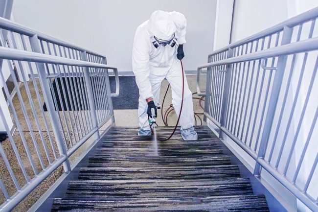 "Disinfecting common areas in a facility may become the ""new normal"" for food processors"