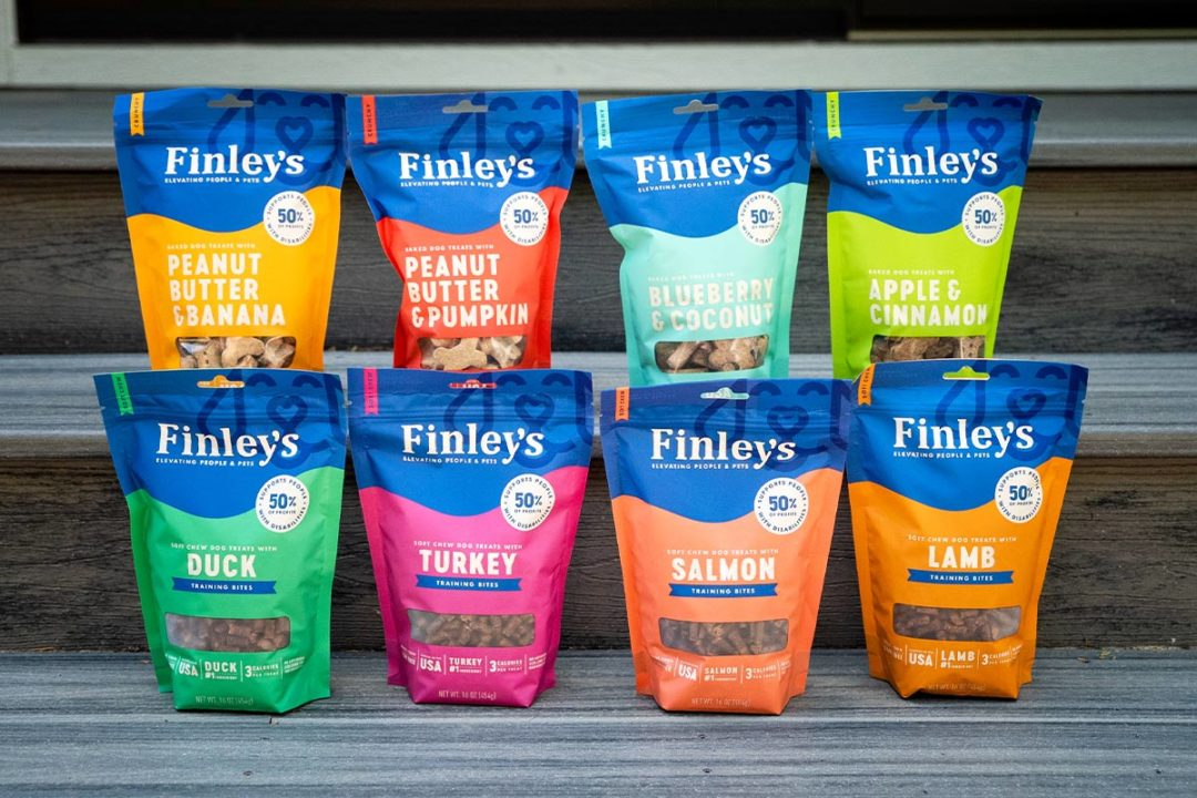 Finley's dog treats now available on Target.com