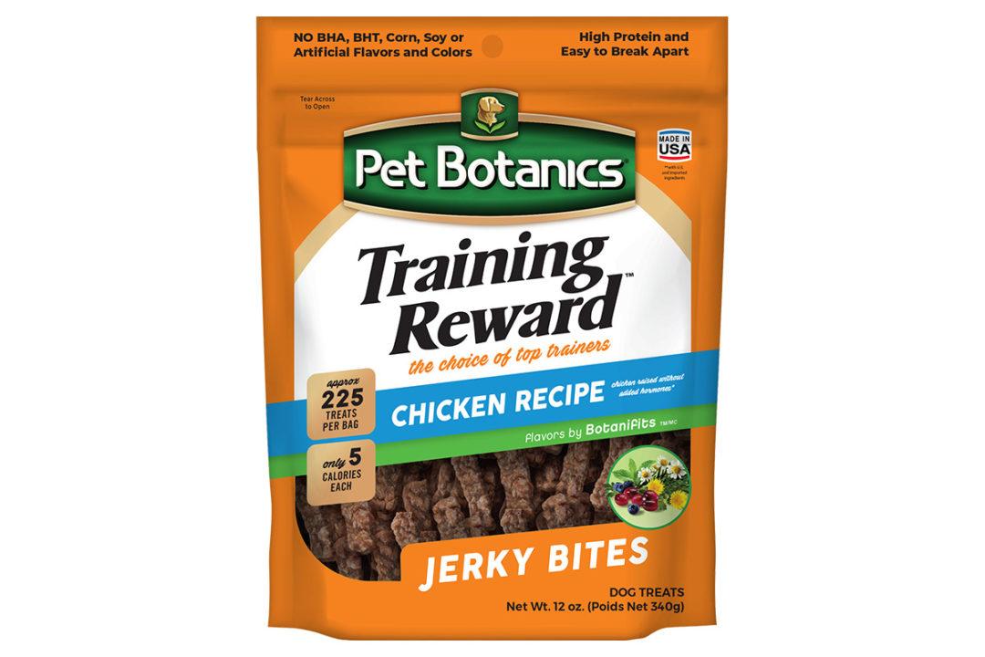 Pet Botanics Jerky Bites Training Rewards