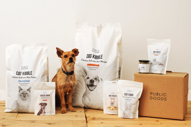 Public Goods enters pet food market with clean label portfolio