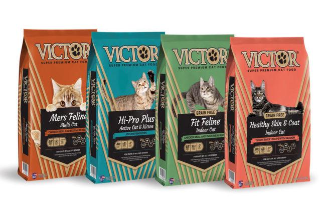 VICTOR adds three functional dry cat food formulas