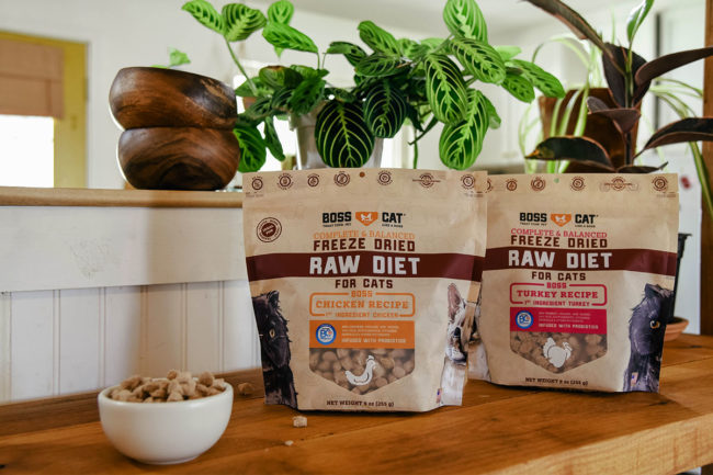 Freeze-Dried Raw Diet for Cats by Boss Nation Brands