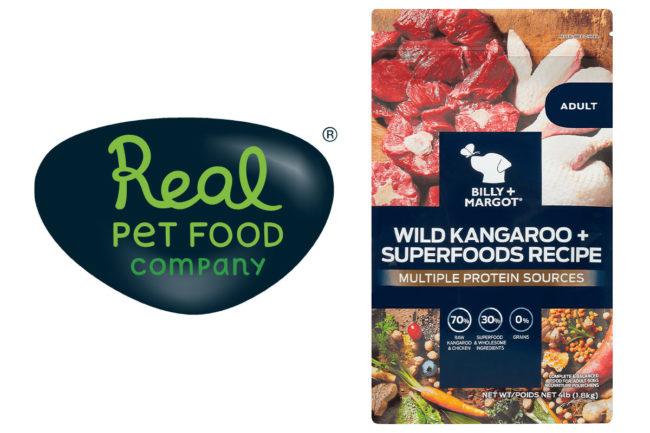 Real Pet Food Company recalls Billy+Margot Wild Kangaroo dog food