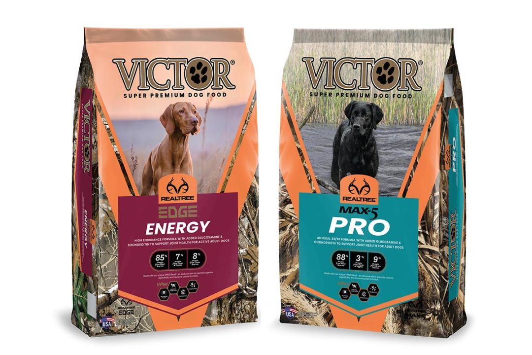 VICTOR teams up with Realtree to debut two new functional dog diets