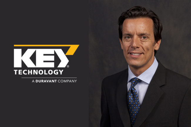 Marco Azzaretti appointed global marketing director for Key Technology