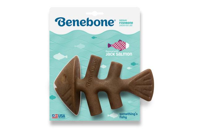 Benebone introduces Fishbone dog chew