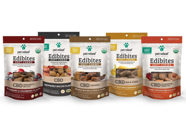 Pet Releaf adds USDA Organic certification seal and additional soft chew formats to Edibites line
