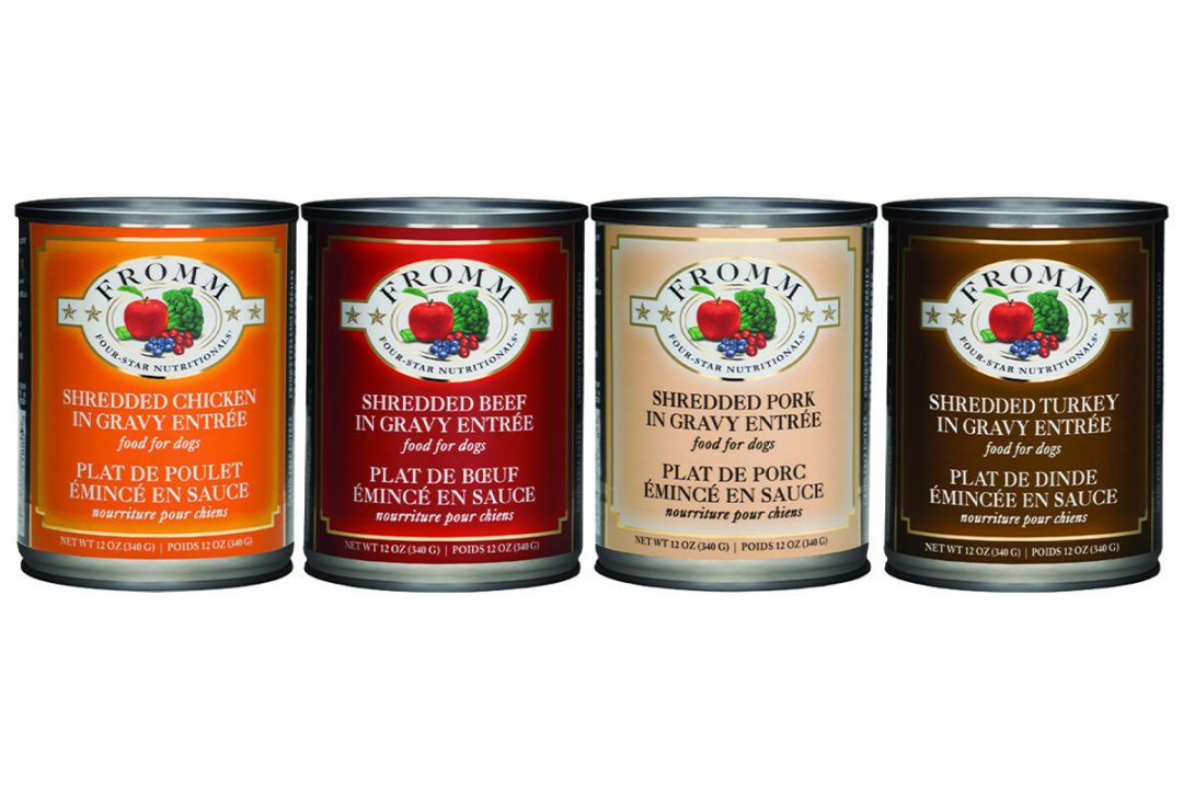 Wet dog food recall issued by Fromm Family Foods