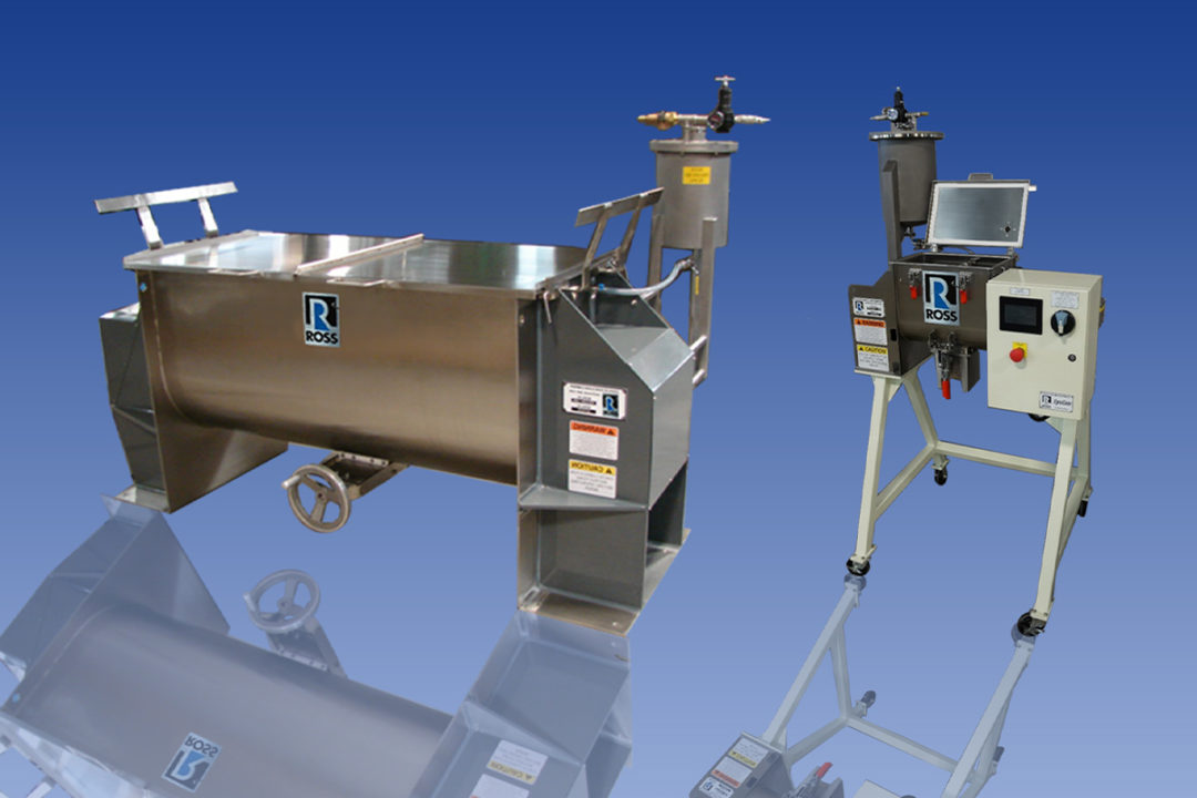 ROSS introduces pressure vessel for liquid ingredient batching