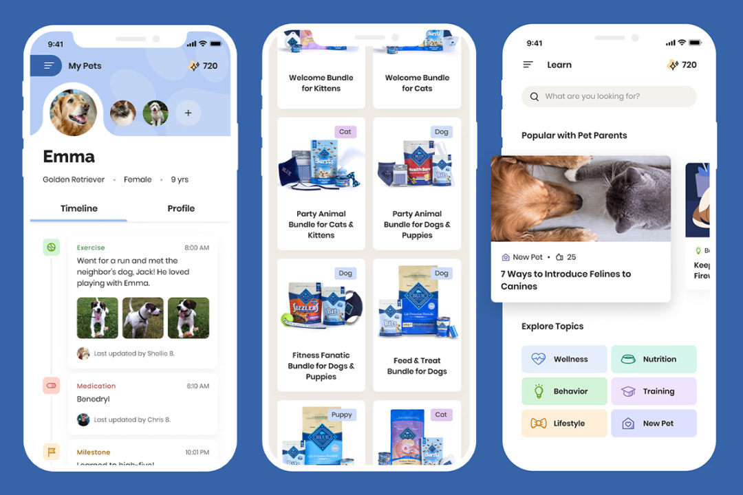Blue Buddies app to connect pet owners with resources, deals and each other