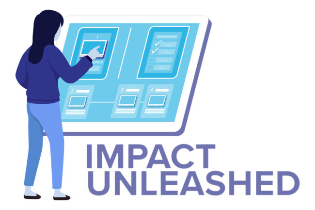 Schedule of presentations and events for Impact Unleashed 2021