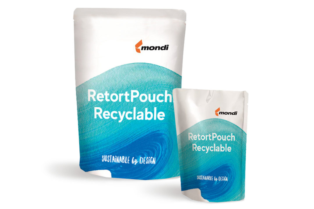 Mondi releases recyclable mono-material retort pouch for wet pet food
