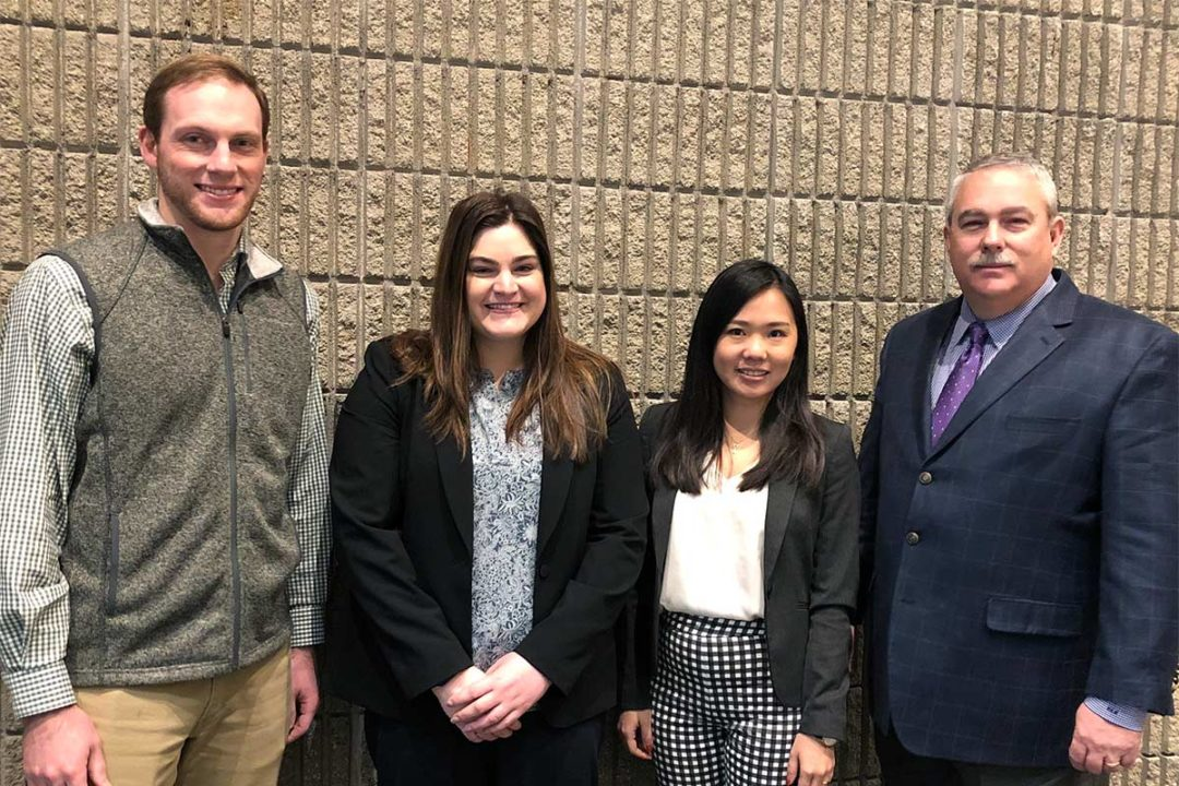 Graduate students who presented at AFIA's 2020 Pet Food Conference.