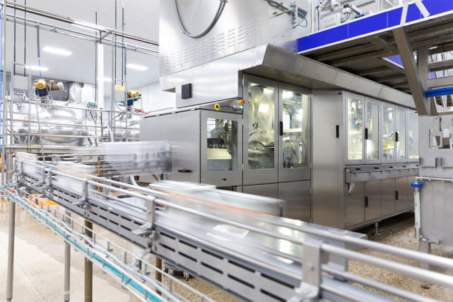 NaturPak's new facility provided a 300% capacity increase over its previous plant. The company currently has the capability of producing 50 million cartons annually.