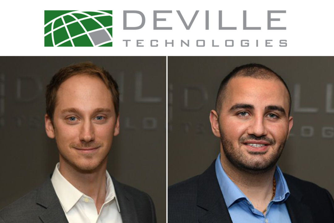 Paul Krechel and Elie Mechaalany have been promoted to sales director positions with Deville Technologies