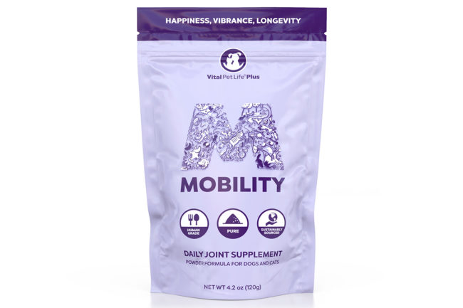 New mobility supplement by Vital Pet Life
