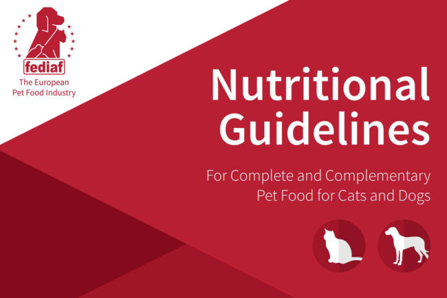 FEDIAF publishes updated Nutritional Guidelines for European manufacturers