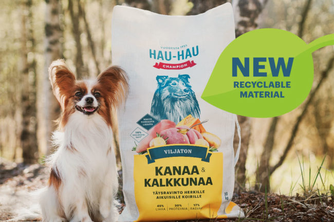 Vafo Group partners with Mondi to implement recyclable packaging for Hau-Hau Champion