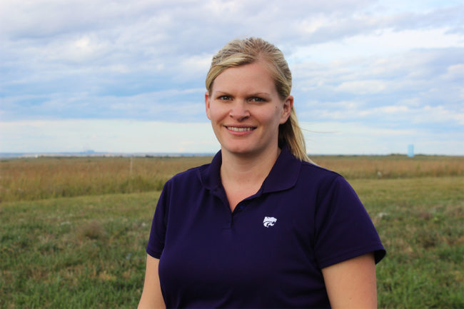 Cassie Jones, Ph.D., associate professor of animal sciences and industry at KSU, was named AFIA Member of the Year.