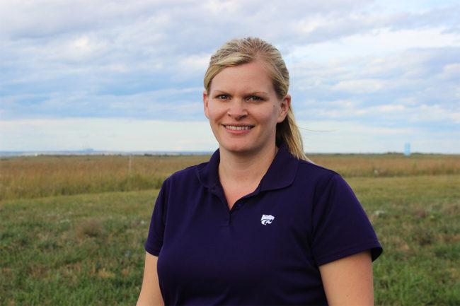 Cassie Jones, Ph.D., associate professor of animal sciences and industry at KSU, was named AFIA Member of the Year.