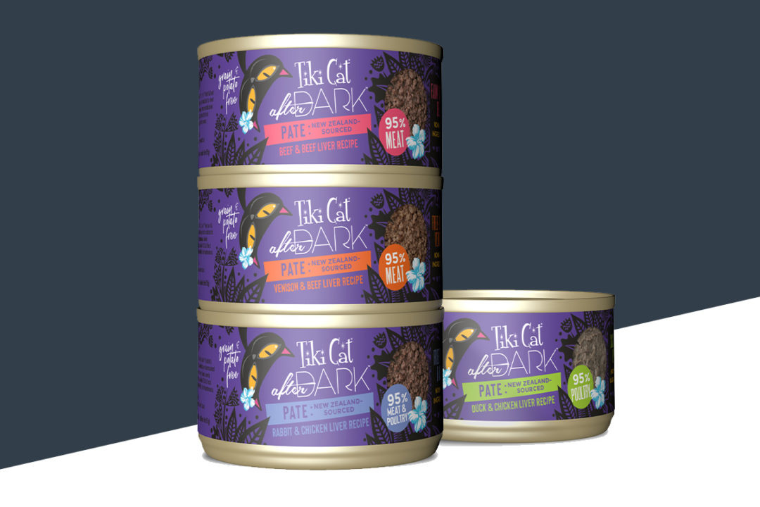 Tiki Pets launches wet cat foods with 95% meat protein