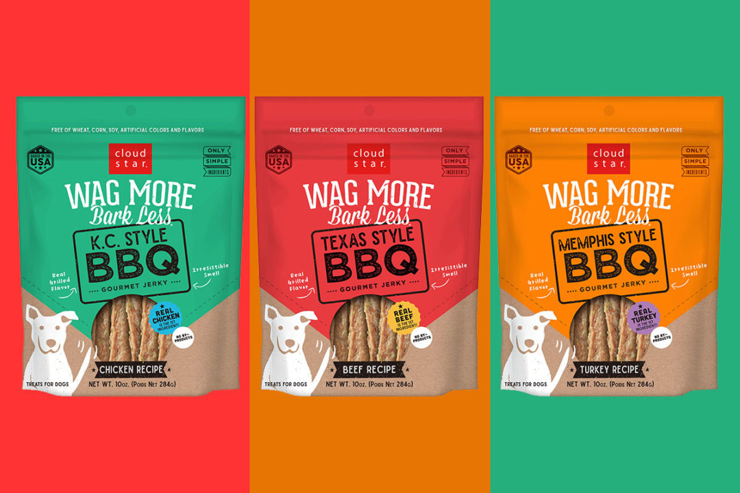 New BBQ jerky dog treats from Cloud Star