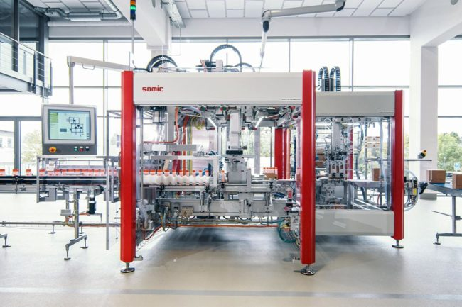 SOMIC shares video of 424 series packaging solution